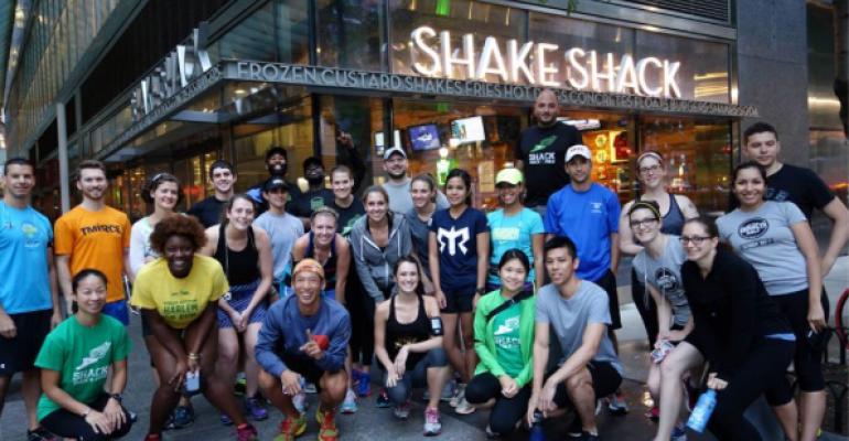 Shack Track amp Field attracts amateur athletesmdashand their appetites