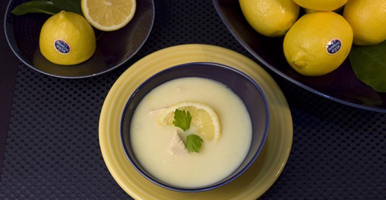 Classic Greek Egg and Lemon Soup