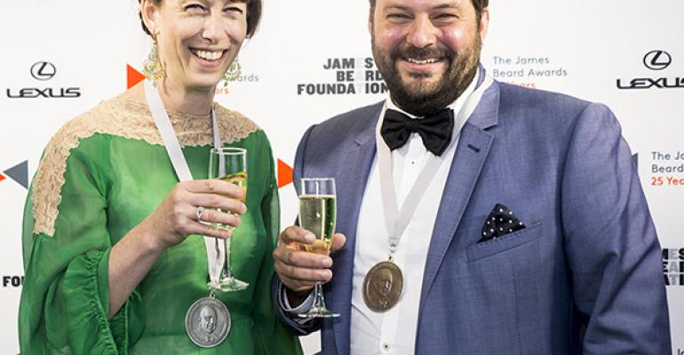 State Bird Provisions chefowners Nicole Krasinski and Stuart Brioza are riding high these days