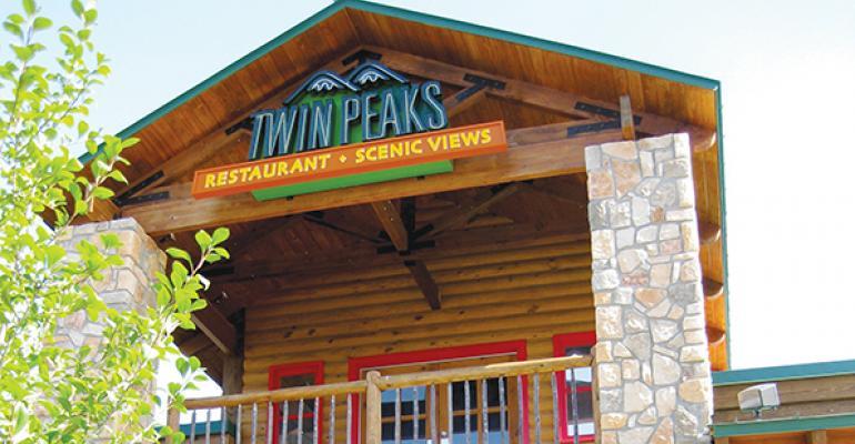 A Twin Peaks restaurant in Dallas