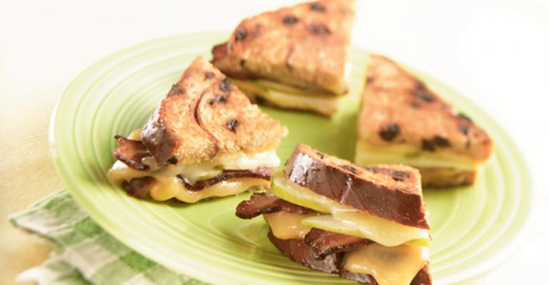 Ultimate Grilled Cheese Sandwich with Jack and Smoked Gouda Cheeses