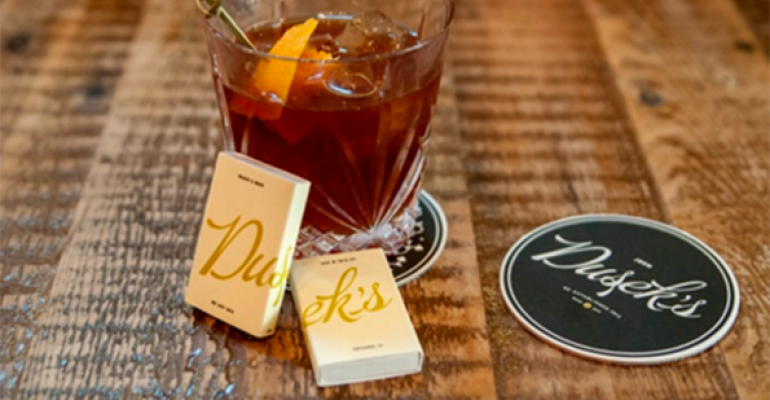 Dusek39s Chicago take on the Old Fashioned