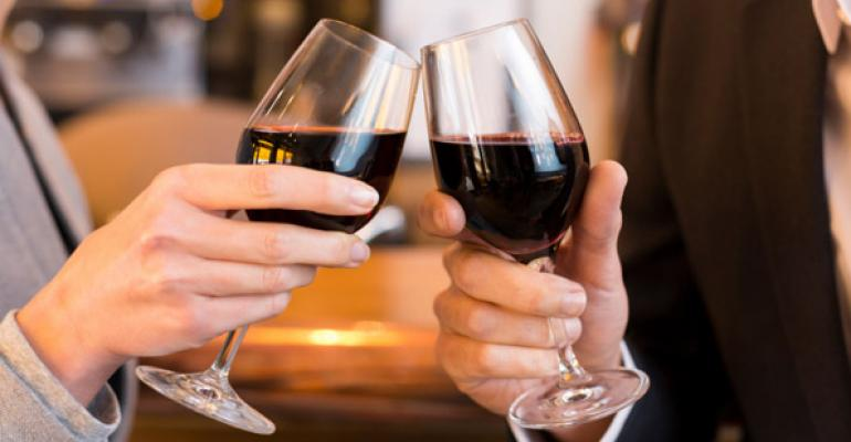 Growth in wine sales is slowing