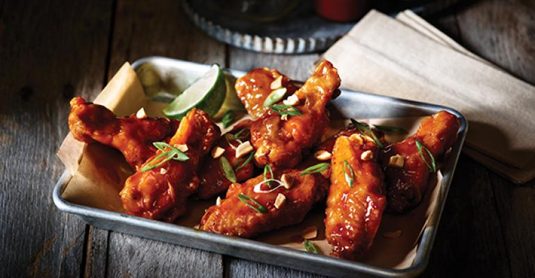 Applebees double crunch bonein wings
