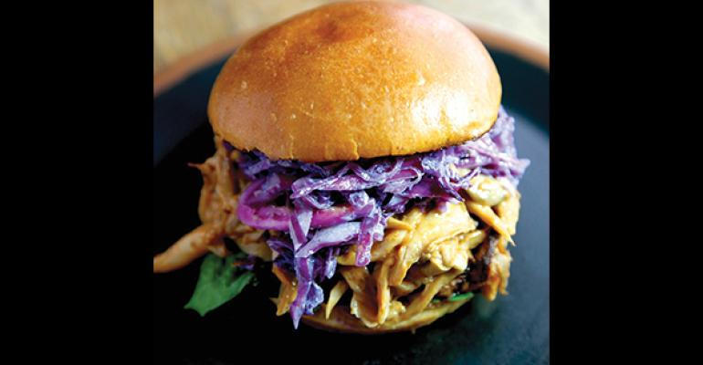 Creative offerings like this Pulled Barbecue Mushroom Sandwich from The Greenhouse Tavern in Cleveland have Millennial appeal