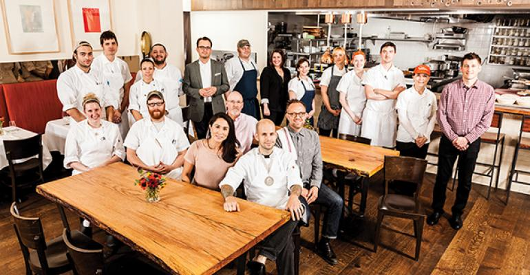 The Niche Food Grouprsquos incredible culinary talent is led by Gerard Craft seated center