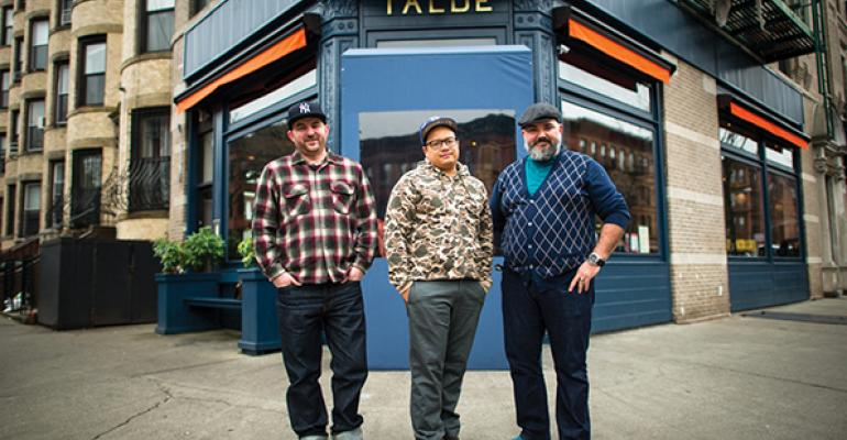 The three kings from left to right John Bush Dale Talde and Dave Massoni
