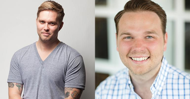 Chris Cusack left and Joey Treadway are the brains and namesakes behind Treadsack