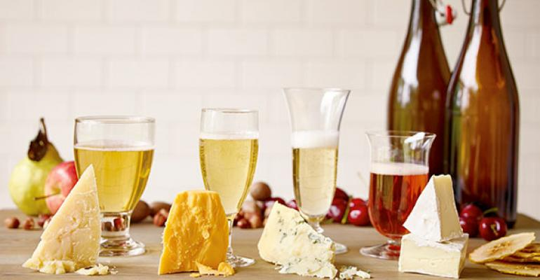 Cheese and cider pairing