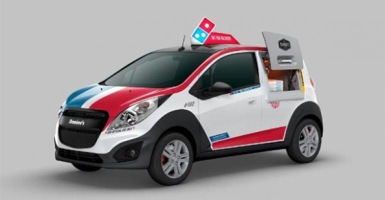 Dominos Chevy Spark