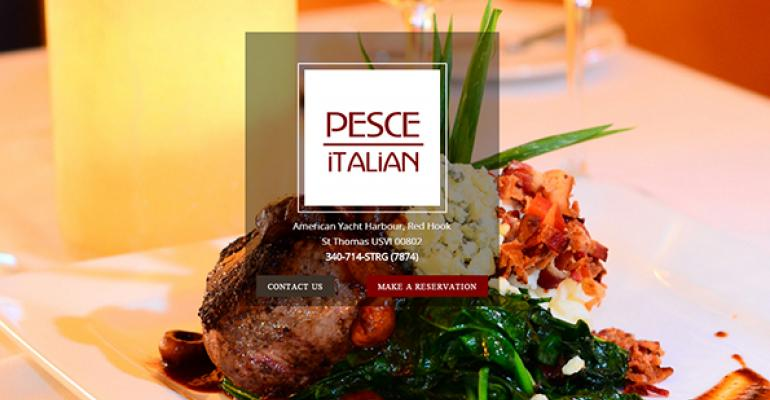 Pesce Italian website