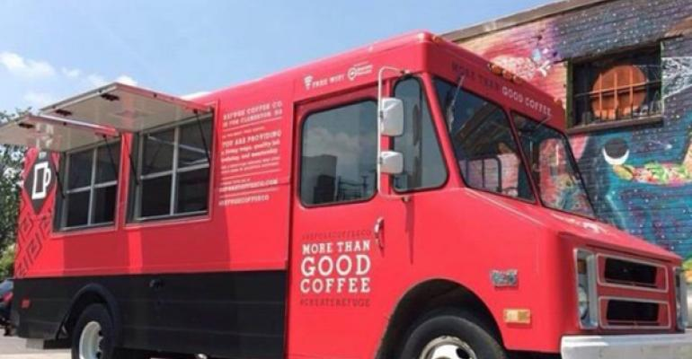 Coffee trucks are a growing food truck niche