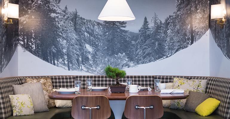 Little Pine restaurant Moby