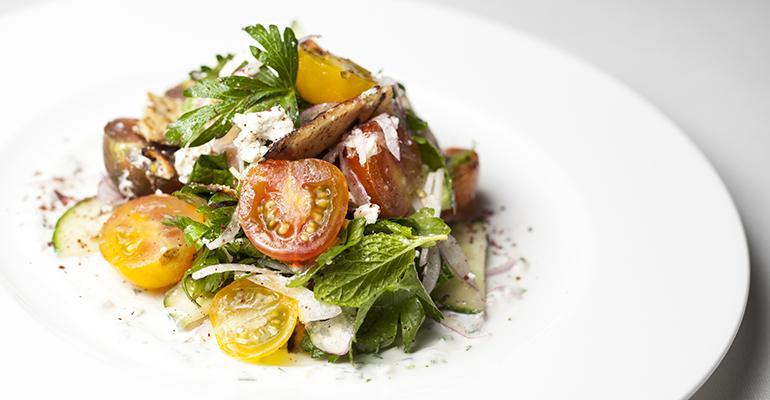 The Belvedere salad