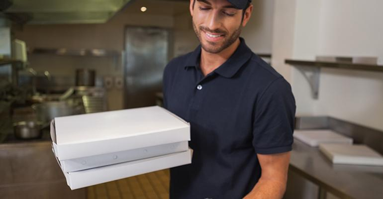 restaurant delivery person
