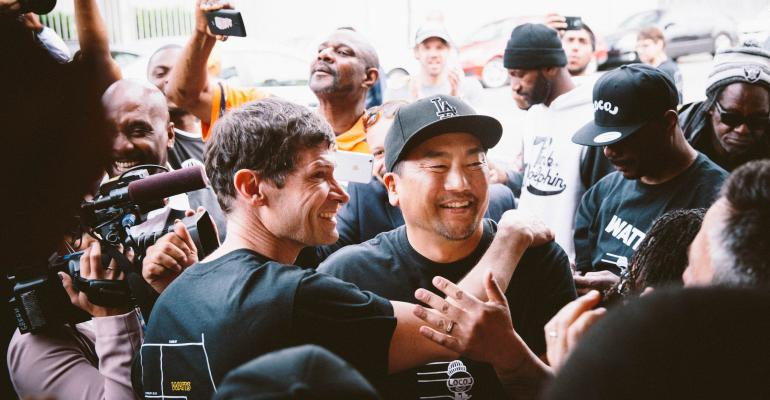 Chefs Roy Choi and Daniel Patterson