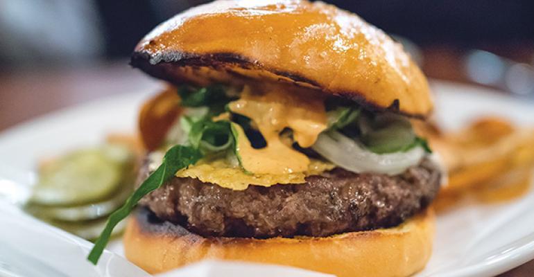 Alden  Harlow Secret Burger