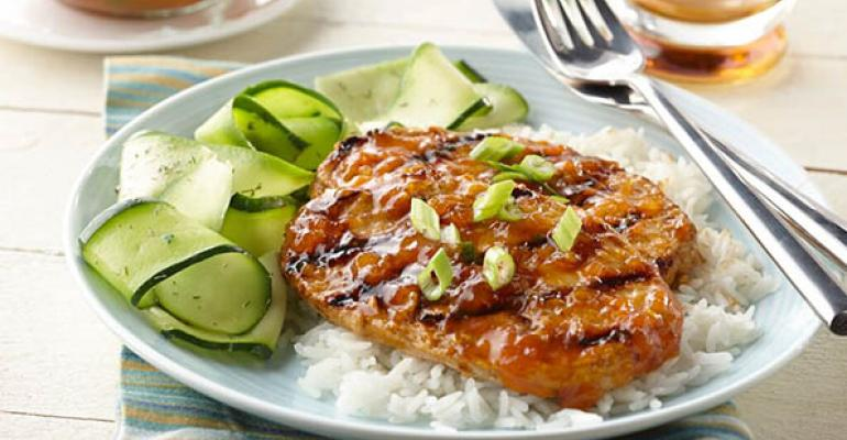 Apricot Pumpkin Soy Chicken