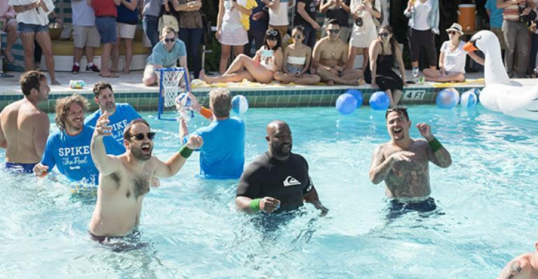 Spike Mendelsohn pool party
