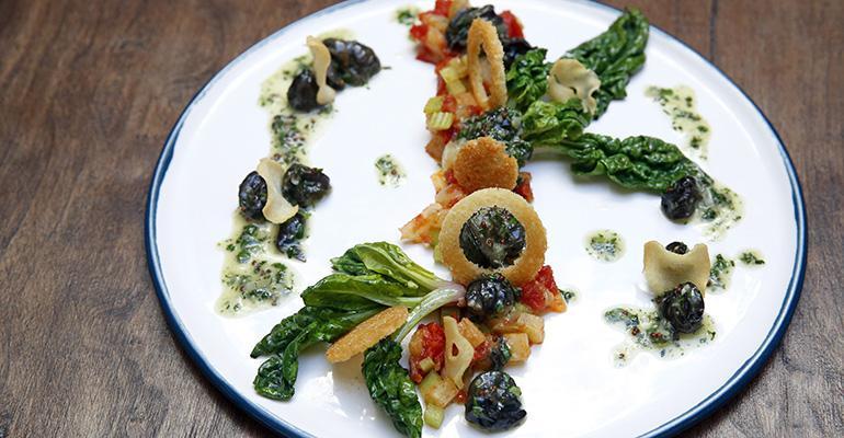Spring39s menu includes artful plates like Escargot Provencal with tomato fennel garlic fresh basil and persillade