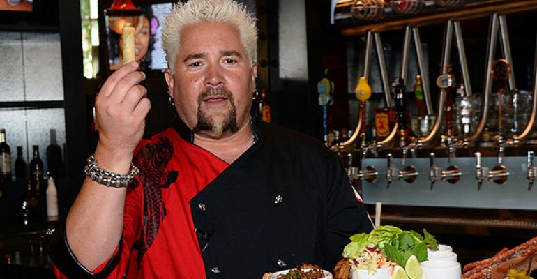 Fieri who ended a twodecade partnership has his hands full with multiple concepts and Food Network commitments