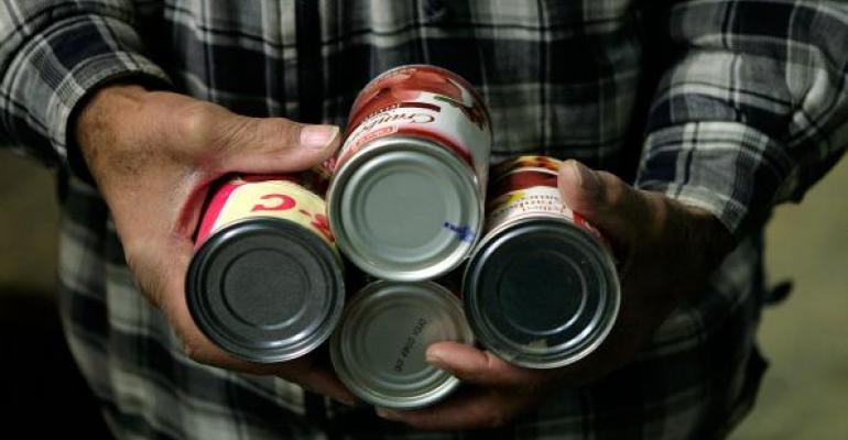 BPA is found in plastic containers as well as the linings of cans and jars