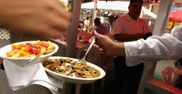 Food festivals allow restaurants to showcase their product to a new audience