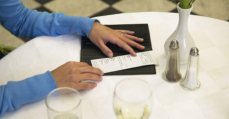 Patrons skip out on checks for a variety of reasons Deciding who39s responsible can be touchy