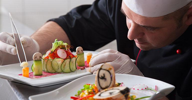 A private chef wears many hats buyer cook sales rep showman