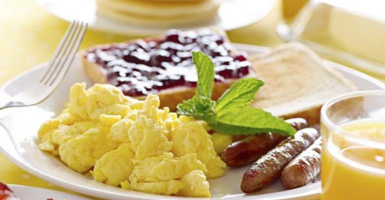 Some 70 percent of breakfasts are eaten at home That leaves a lot of room for restaurants to step in