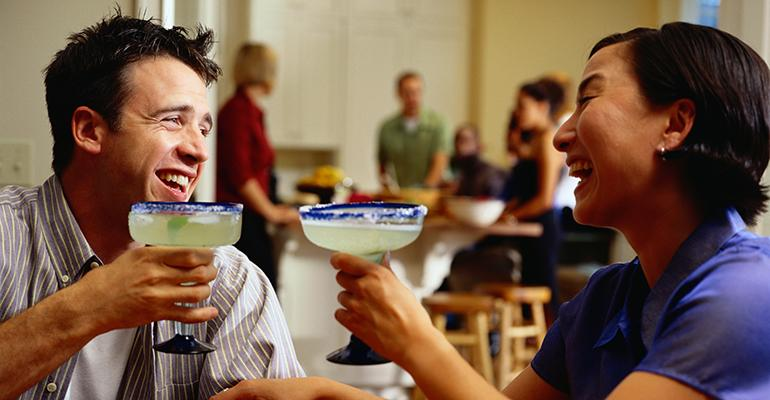 Regardless of the cuisine margaritas seem to have universal appeal among Americans