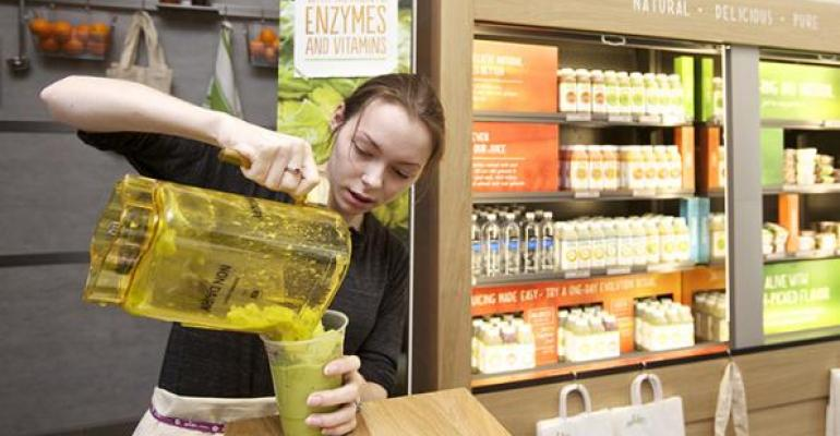 Seattlebased Evolution Fresh is tapping into demand for functional beverages