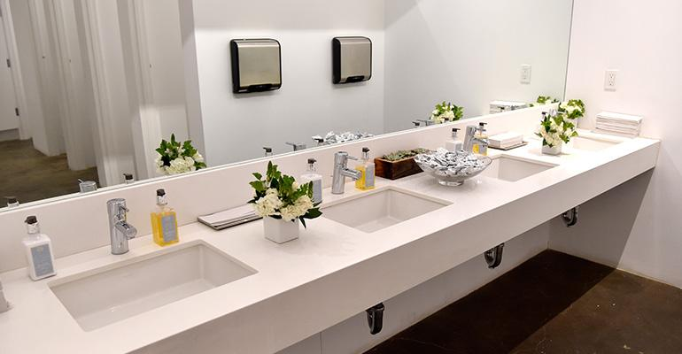 Clean restroom facilities are a big plus for restaurants