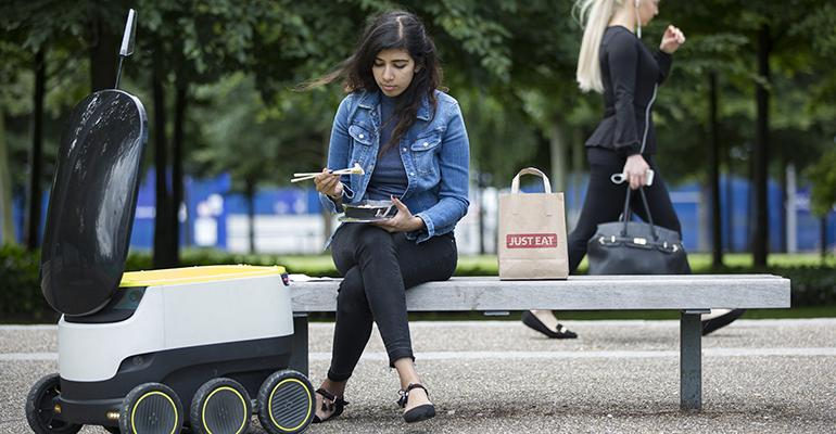 Robots and other forms of restaurant delivery gratify the quotI want it nowquot attitude of younger restaurant customers