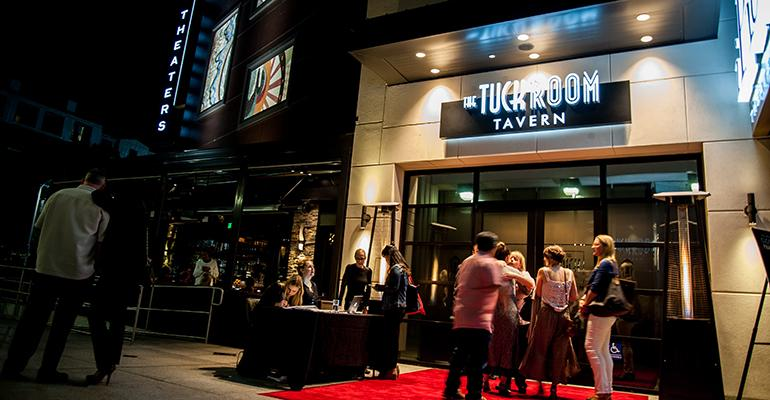 Tuck Room Taverns are paired with movie theaters but designed to be  destinations in their own right
