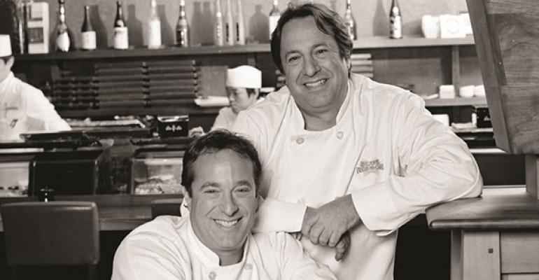 Bruce and Eric Bromberg the brothers behind the Blue Ribbon Restaurants group