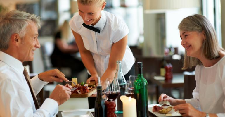 Does your full-service restaurant have a fast-food approach?