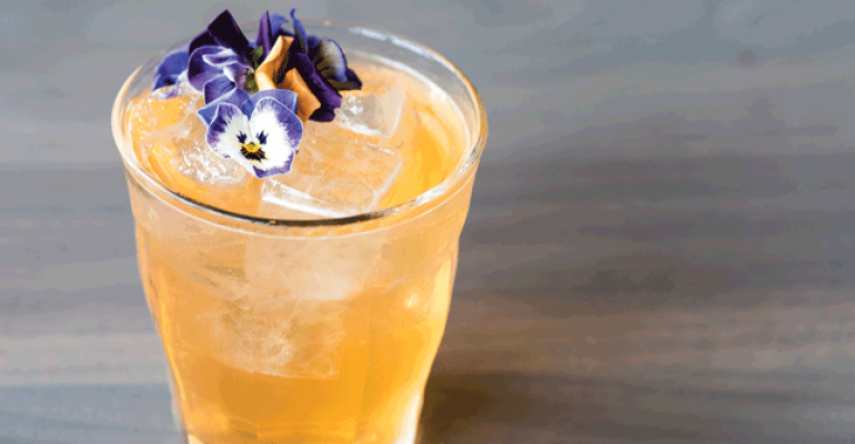 best cocktail sweet flower of mine