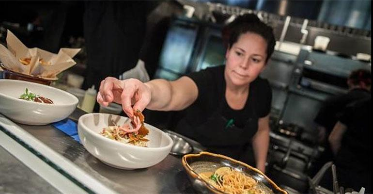 SterlingRice says Stephanie Izard39s Girl amp the Goat restaurant in Chicago helped launch the goat trend
