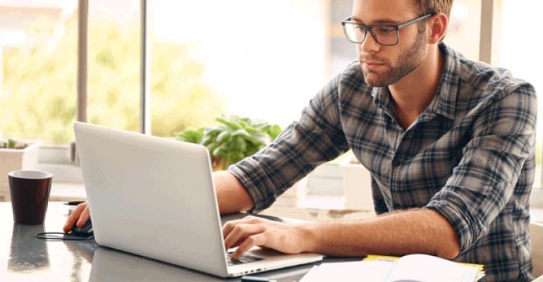 job application laptop