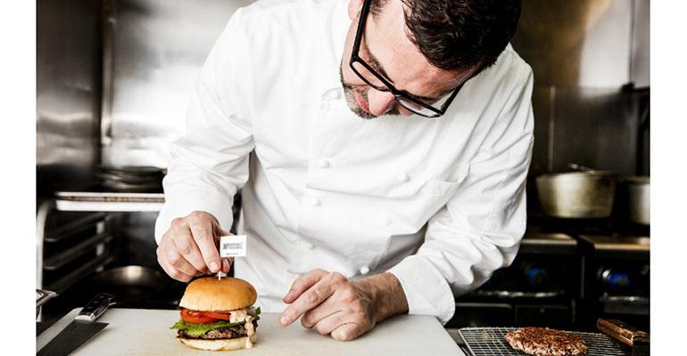 Crossroads chef Tal Ronnen added an Impossible Burger to his vegan menu recently