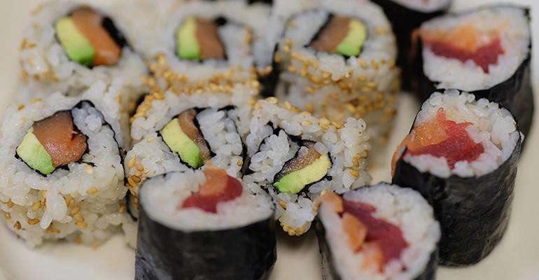Sushi poke bowls and other seafood specialties stand to grow in popularity based on recent consumption trends