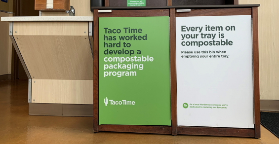 A case study for composting: Taco Time Northwest