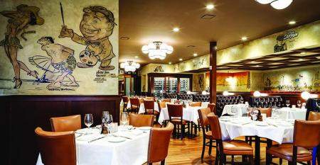 The Palm restaurant chain may be for sale
