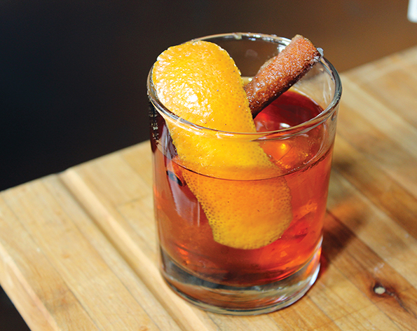 Toasted Old Fashioned Cocktail