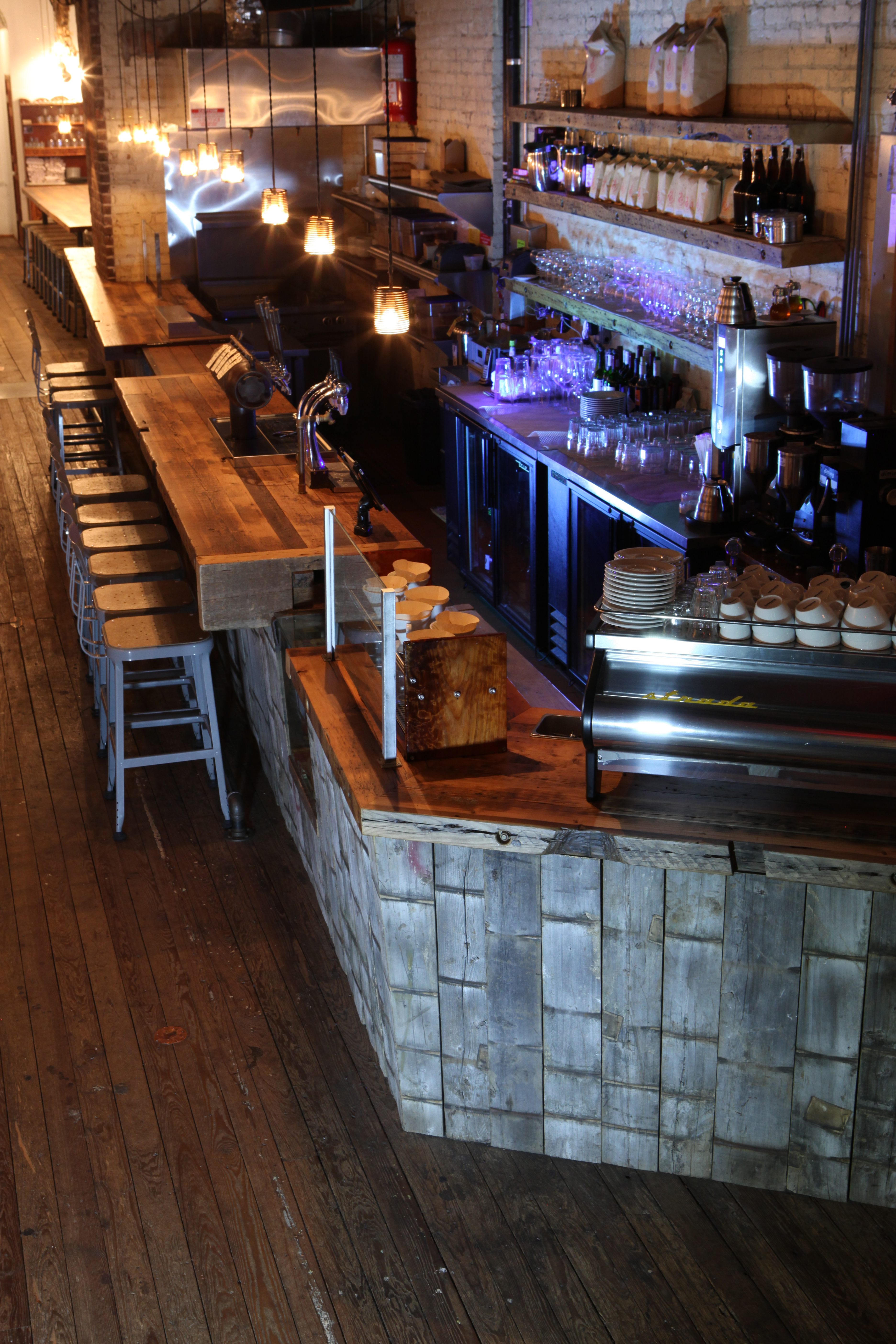 A good bar layout eases physical and financial pain