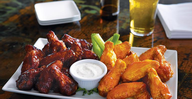 Wing, beverage pairings fly high