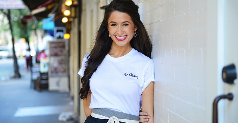 By Chloe chef and coowner Chloe Coscarelli won the Food Network competition ldquoCupcake Warsrdquo and is a lifelong vegetarian