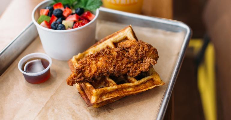 flyrite chicken waffle