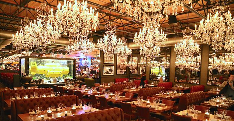 A tour of town hearths whimsical dining room restaurant hospitality chandeliers mozeypictures Choice Image